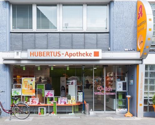 Hubertus-Apotheke Eingang