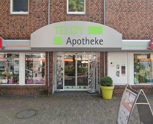 Teloy-Apotheke Eingang