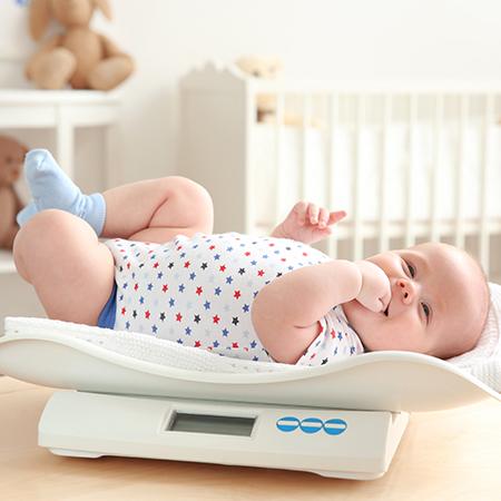 Digitale Babywaagen (Söhnle)