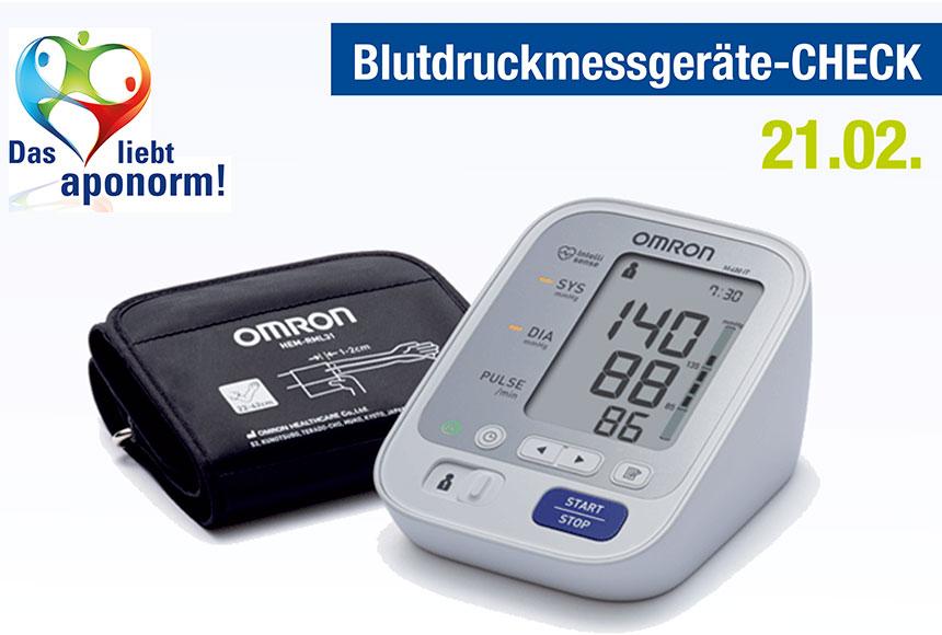 Blutdruckmessgerätecheck
