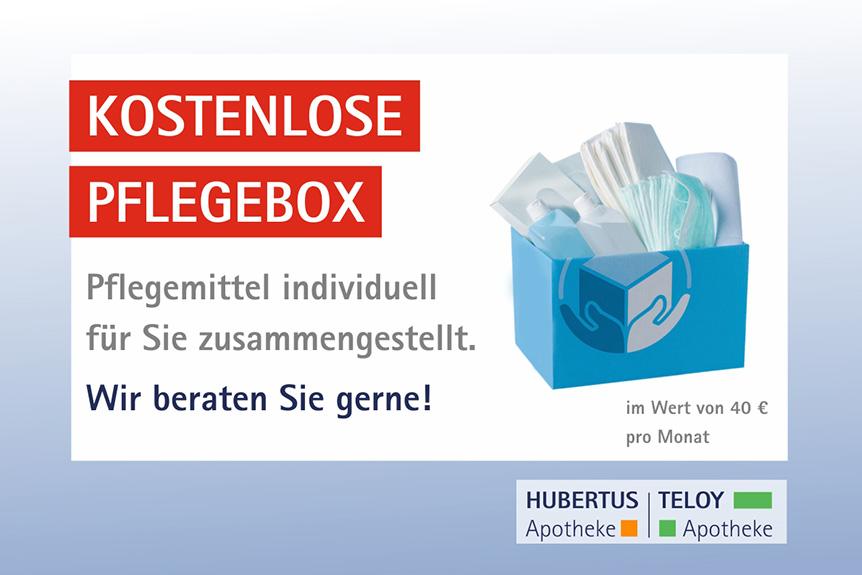 kostenlose Pflegebox