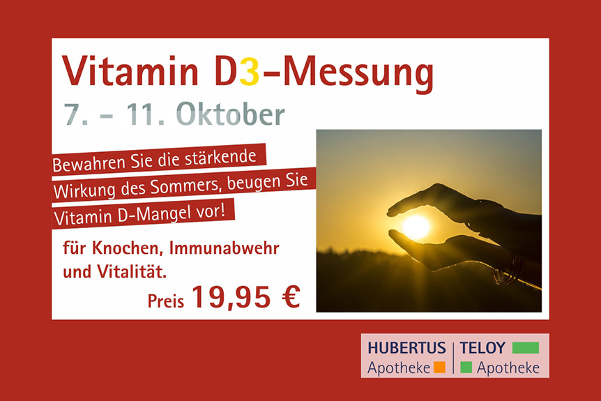 Vitamin-D-Messung